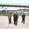 김정은제1위원장께서 만경대유희장을 돌아보시였다