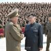 김정은제1위원장, 조선인민군 제6556군부대 장병들과 기념촬영