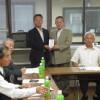 《후꾸시마조선학교를 지원하는 회》 제3차총회, 후꾸시마초중에 지원금 전달