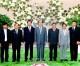 김영남위원장, 캄보쟈대표단들과 담화