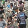오사까 이꾸노동청상회 주최, 부모와 아이들의 강놀이