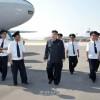 김정은제1위원장, 평양항공역사업을 현지지도