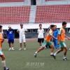 평양에서 아시아축구련맹 B급감독강습