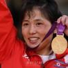 〈런던올림픽〉 유술 녀자 52kg급, 조선의 안금애선수가 금메달 획득
