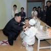 김정은제1위원장, 경상유치원을 방문