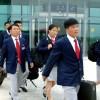 〈런던올림픽〉조선대표선수단 평양출발