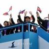 〈런던올림픽〉조선선수단이 귀국