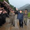 김정은원수님, 조선인민군 제318군부대를 시찰