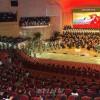 청년절경축 은하수음악회 진행