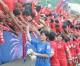 〈U-20녀자축구〉조선팀, 아르헨띠나팀에 9-0으로 압승