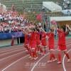 〈U-20녀자축구〉조선팀, 노르웨이팀에 4대2로 승리