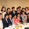 〈U-20녀자축구〉고베시내에서 조선선수단 환영모임