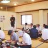 조일우호 한층 깊이자, 나가노 쥬신지부 오마찌분회에서 조선방문 보고모임