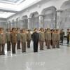 김정은원수님께서 금수산태양궁전을 찾으시였다