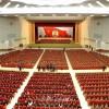 김정일장군님께서 조선로동당 총비서로 높이 추대되신 15돐기념 중앙보고대회 진행