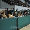 김정은원수님, 제12차 인민체육대회 체육단부문 남자축구 결승경기를 관람