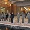 김정은원수님께서 당중앙군사위원회, 국방위원회, 최고사령부 작전지휘성원들과 함께 금수산태양궁전을 찾으시였다