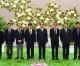 김영남위원장, 일본 교도통신사대표단과 담화