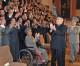 김정은원수님, 만경대혁명학원, 강반석혁명학원창립 65돐 경축대회 참가자들과 기념촬영