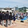 니이가따초중에서 제15차 미래페스티벌, 1,100명이 참가