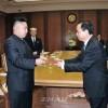 김정은원수님, 중국공산당대표단을 접견
