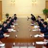조선로동당대표단과 중국공산당대표단사이의 회담 진행