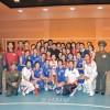 김정은원수님, 4.25국방체육단 사격선수들의 사격경기와 번개팀과 평양팀간의 녀자배구경기를 관람