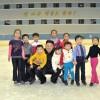 김정은원수님께서 준공을 앞둔 류경원과 인민야외빙상장, 로라스케트장을 돌아보시였다