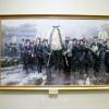 장군님 서거 1돐 미술전람회, 총련주제의 미술작품도 전시