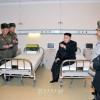 김정은원수님께서 인민군대에서 건설하고있는 대성산종합병원을 돌아보시였다