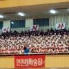 탁구개인, 인민대학습당팀 선수가 우승/치렬한 승부, 경쟁적인 응원열기