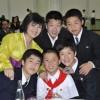 재일조선학생들을 위한 연회가 진행/설맞이공연성과를 축하