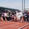 광명성절 경축 《제56차 오사까동포, 학생이어달리기 마라손대회》