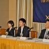 조선학교관계자들, 일본외국특파원협회에서 기자회견