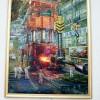 로화가들이 그린 《변모되는 풍경》/태양절에 즈음한 송화미술전시회