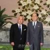 일본내각참여일행 조선방문
