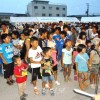 와까야마동포납량모임, 300여명이 참가, 수익금은 학교에
