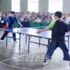 장애자 및 애호가들이 탁구경기/지방도시들에서 예선, 참가자수 작년의 2배