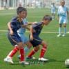 〈꼬마축구대회〉합동팀 《강성》, 《동해》팀 관계자들/아이들에게 자신을