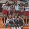 《오사까부조선인배구협회배》 초급부녀자부문, 이꾸노초급 5, 6학년팀이 결승경기