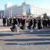 래일을 펼쳐보인 설분위기/새해 2014년 맞은 평양