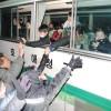 〈설맞이모임2014〉재일조선학생소년예술단이 일본을 향해 출발