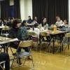 후꾸오까의 녀성동맹지부들에서 신입생, 졸업생을 열렬히 축하하는 모임