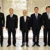 김일성대원수님의 탄생 102돐경축 재일본조선인대표단 평양에 도착