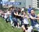 도꾜 다이또지역에서 남녀로소의 운동회