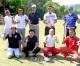 야마구찌현청상회, 최대동원기록 갱신/학교채리티골프모임에 208명