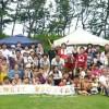 3현의 같은 세대 가족이 한자리에/호꾸리꾸청상회가 주최한 교류모임