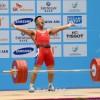 〈인천 아시아대회・남자력기〉김은국선수, 67㎏급경기에서 금메달/세계신기록 수립
