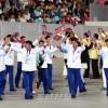 〈인천 아시아대회〉개막식 진행, 경기장에 메아리친 혈육의 정 넘치는 환성