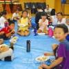 동포어린이들의 웃음 가득/교또부청상회가 주최한 도끼도끼미래캠프